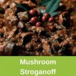 close up thermomix mushroom stroganoff pinterest pin