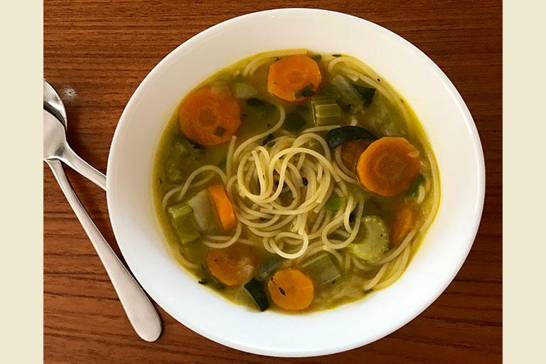 veggie noodle soup thermomix
