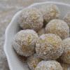 Thermomix bliss balls lemon
