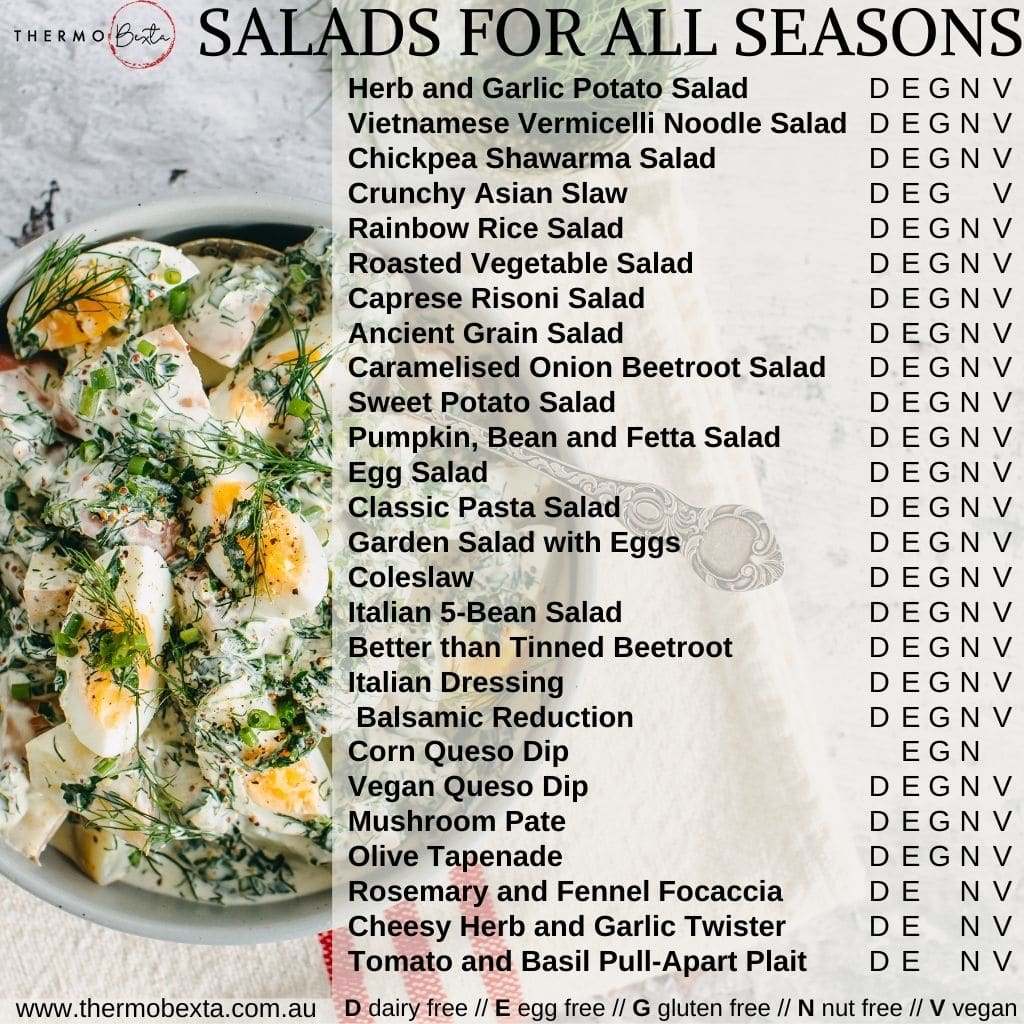 Thermomix Cookbook – Salads For All Seasons