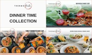 thermobexta thermomix dinner time collection three book covers